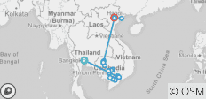 Ultimate Southeast Asia & The Majestic Mekong - Northbound - 24 destinations