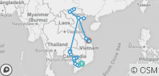 The Heart of Cambodia & Vietnam with Sapa, Hue & Danang - Northbound - 32 destinations