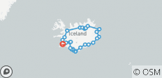 8-Days Guided Iceland Circle - 29 destinations