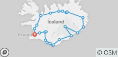 Guided Iceland Circle - 26 destinations