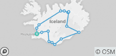 Guided Iceland Circle - 18 destinations