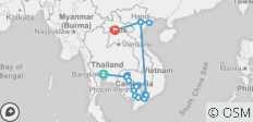 Ultimate Southeast Asia & The Majestic Mekong with Luang Prabang - Southbound - 24 destinations