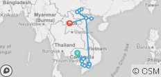 The Heart of Cambodia & Vietnam with Sapa and Luang Prabang - Southbound - 27 destinations