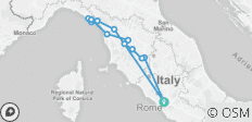 Rome & Wines of Tuscany and Cinque Terre (7 days/6 nights) - 14 destinations