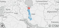 Cycle Iran - 9 destinations