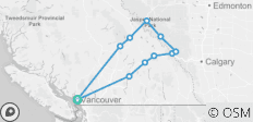 Rockies Premium Tour from Vancouver  - 11 destinations