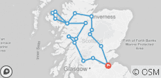 3-Day Isle of Skye, Highlands, Inverness and Glenfinnan Viaduct - 3 Days - 18 destinations