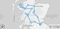 Isle of Skye, Highlands, Inverness and Glenfinnan Viaduct - 3 Days - 18 destinations