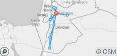 All Around Jordan in 8 days - 14 destinations