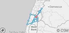 Galilee, Golan, Caesarea and Nazareth 4 days - 15 destinations