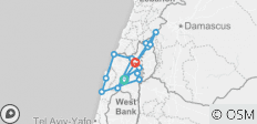 Galilee, Golan, Caesarea and Nazareth 4 days - 14 destinations