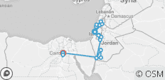 Israel, Jordan and Egypt 10 days - 19 destinations