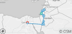 Israel, Jordan and Egypt 10 days - 17 destinations