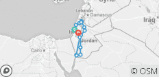 Highlights of Israel & Jordan - 10 Days - 20 destinations
