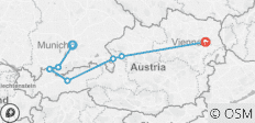 Munich, Salzburg & Vienna with Oberammergau - Faith-Based Travel - 7 destinations