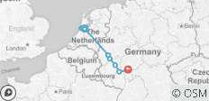 Rolling on the Rhine (Amsterdam to Frankfurt, 2020) - 8 destinations