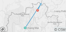 4 Days Chiang Mai to Chiang Rai - 3 destinations