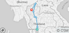 9 Days Experience Thailand- Bangkok to the North - 8 destinations