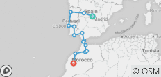 Spain, Portugal, and Morocco Adventure - 14 destinations