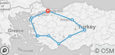 13-day Best of Turkey (Small Group Tour) - 11 destinations