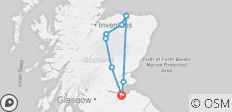 4 Day Speyside Malt Whisky Tour - 8 destinations