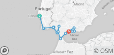 Cruising Spain, Portugal & Morocco: Lisbon to Malaga  - 17 destinations