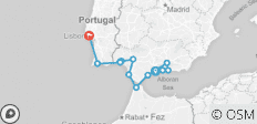 Cruising Spain, Portugal & Morocco: Malaga to Lisbon (M/Y Harmony V) - 13 destinations