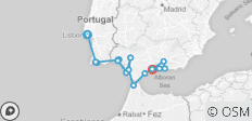 Cruising Spain, Portugal and Morocco: Lisbon to Malaga  - 18 destinations
