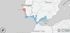 Cruising Spain, Portugal & Morocco: Malaga to Lisbon - 17 destinations