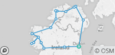 5-day Northern Ireland & Atlantic Coast Small-Group Tour from Dublin - 18 destinations