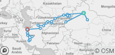 Grand Silk Road Tour - 30 destinations
