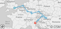 European Rhapsody - 2020 (10 Days) - 11 destinations