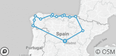 North of Spain - 14 destinations