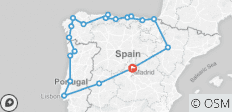 North of Spain & Portugal - 19 destinations