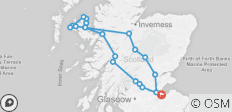 3-Day Isle of Skye Small-Group Tour from Edinburgh - 21 destinations