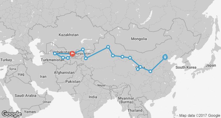 Silk Road to Samarkand via Kashgar by World Expeditions ...