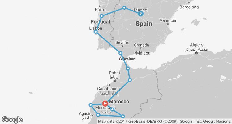 Intrepid Travel Reviews Spain Portugal Morocco