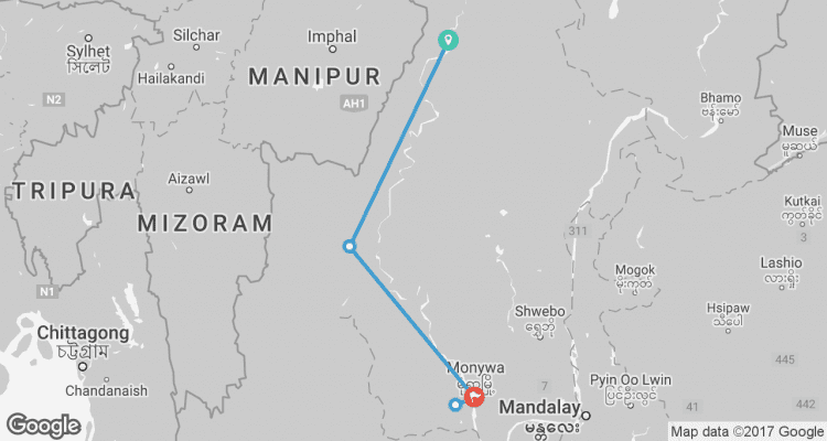The Chindwin 7 Nights from Homalin to Monywa December to
