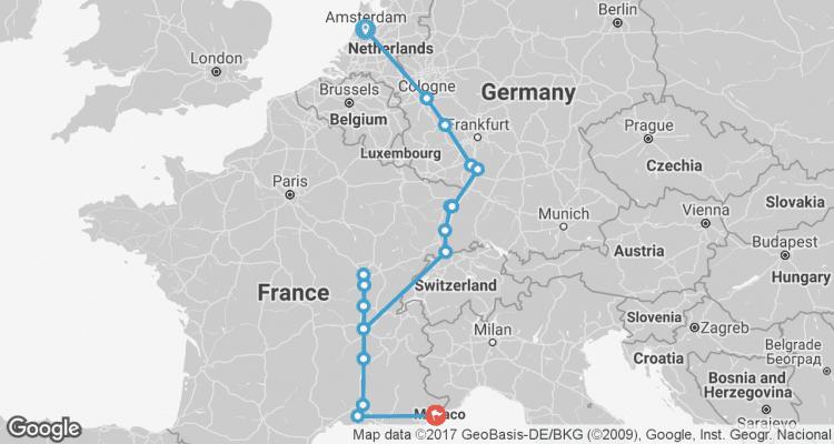 Rhine Amp Rhone River Cruises 2018 By Evergreen Tours Code