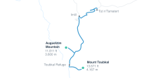 Toubkal Trekking Tour - 6 Destinationen