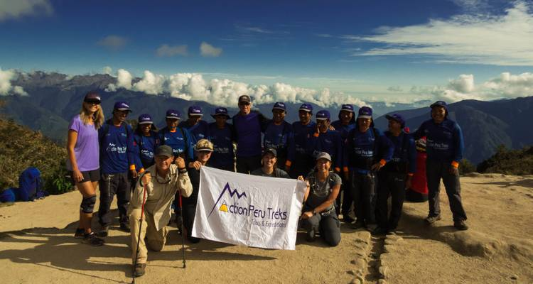 INCA TRAIL  4 DAYS - EMPOWERING WOMEN ON THE INCA TRAIL IN 2020  - Action Peru Treks