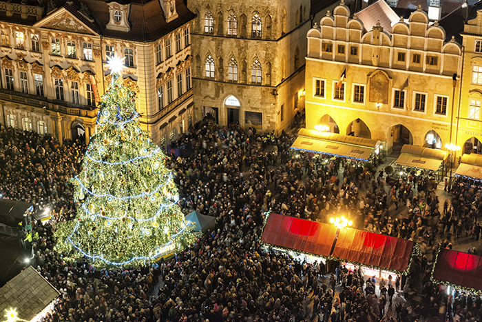 dont let the cold weather discourage you winter is the perfect time to explore europe if many of your favourite childhood memories take place around - European Christmas Tree