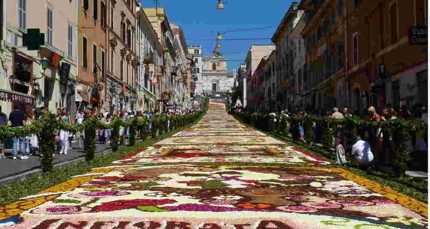 Corpus Christi in Umbria: the Feast of the Flowers - Let's Cook in Umbria
