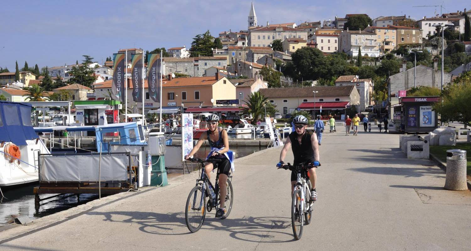 Cycling from Trieste to Pula - Fiore Tours