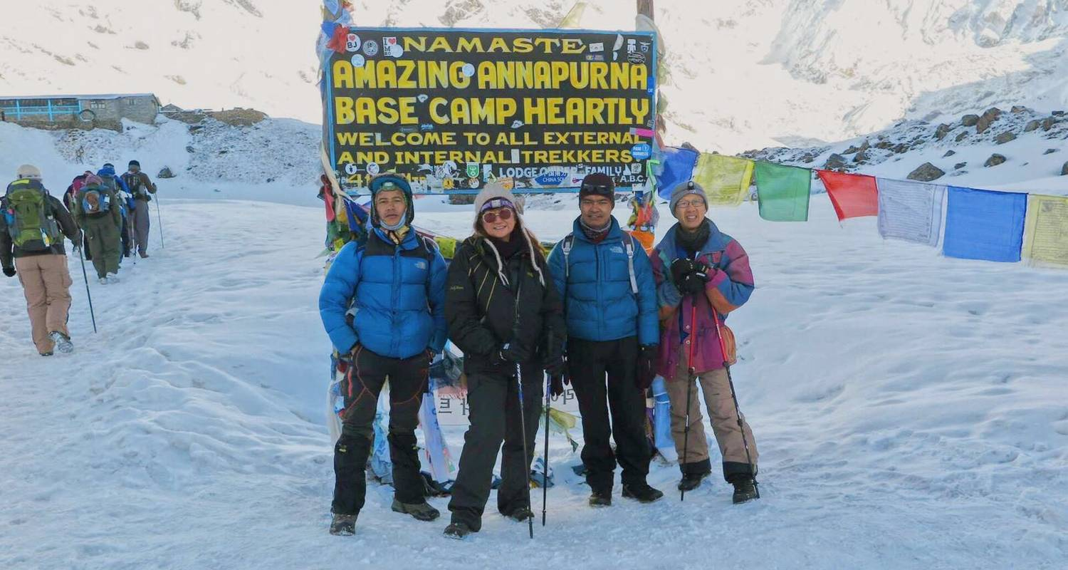 Annapurna Base Camp Trekking - Destination Unlimited Treks and Expeditions Pvt Ltd