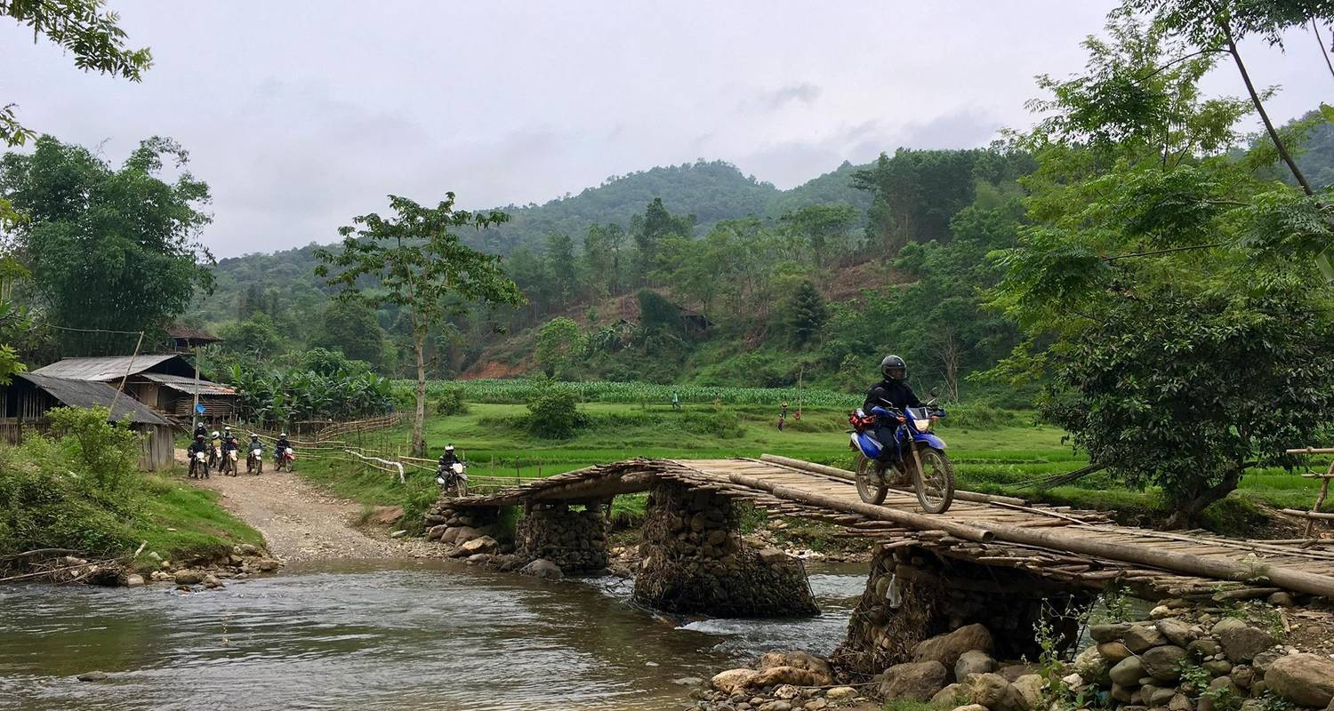 Best Unique Vietnam North-West Motorbike Tour to Sapa - DNQ Travel
