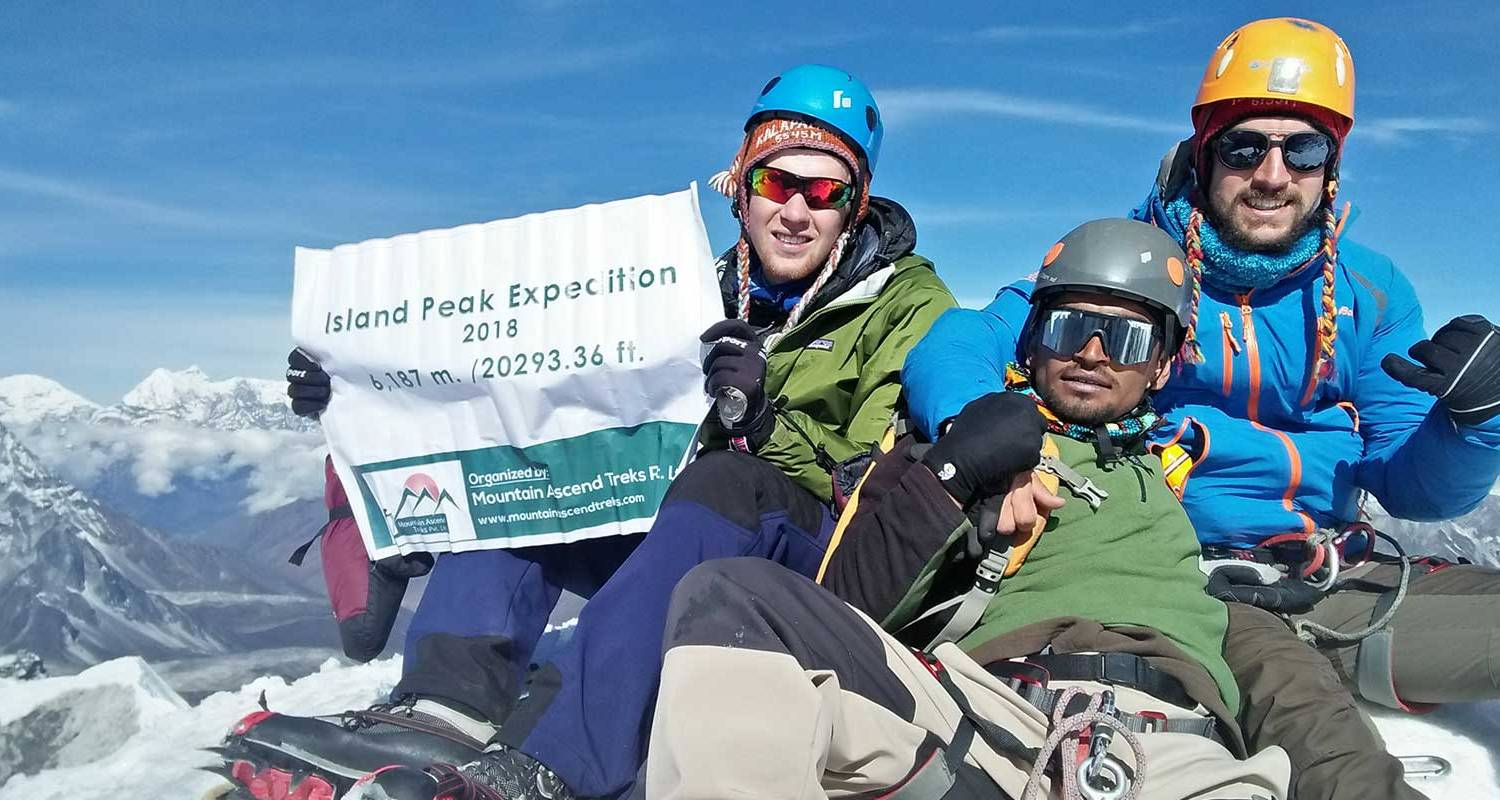 Everest Base Camp Island Peak Climbing - Mountain Ascend Treks Pvt. Ltd.