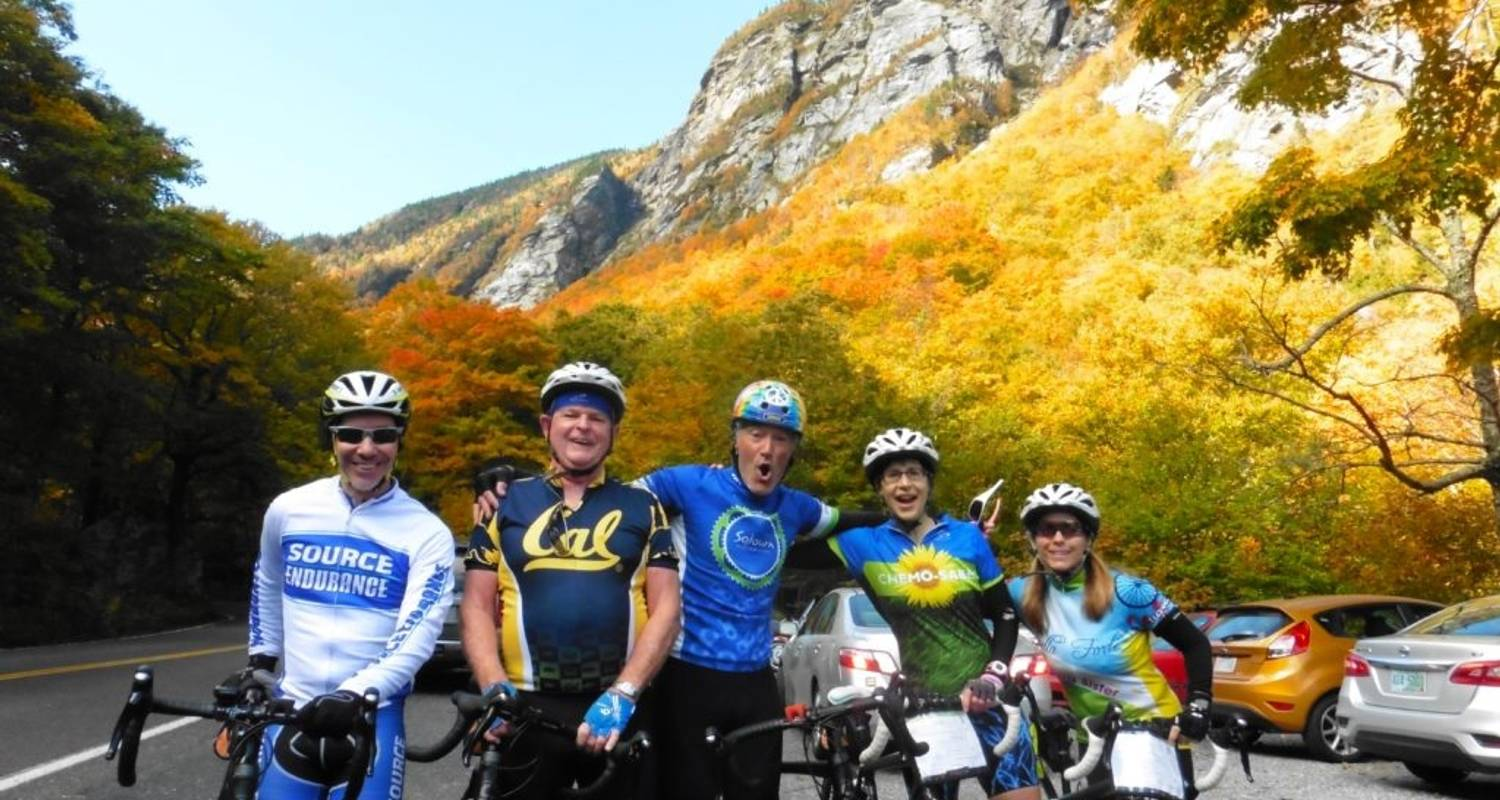 Vermont: Stowe Fall Foliage - 6 Days - Sojourn Bicycling & Active Adventures