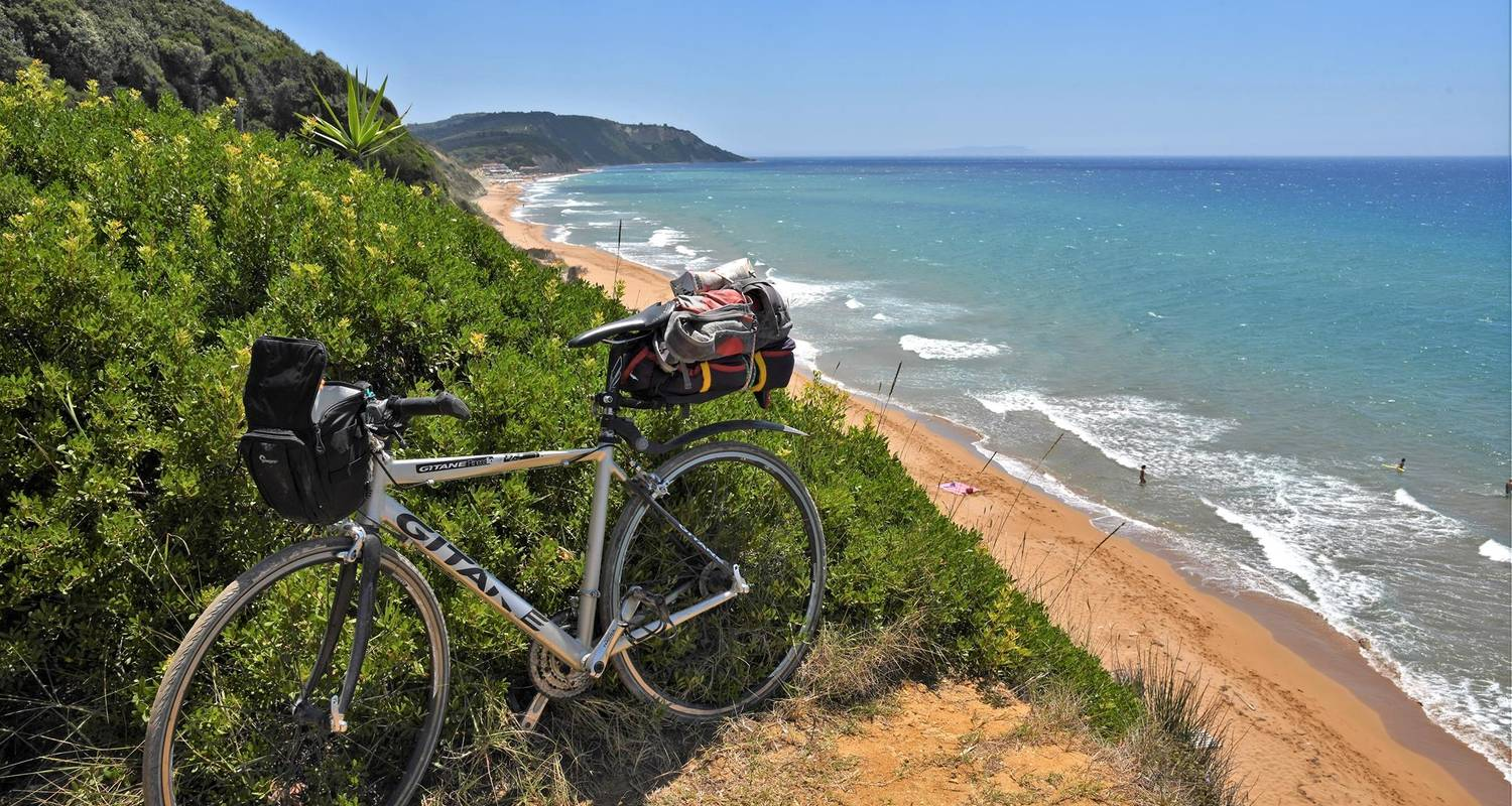 Corfu cycling adventure; the island tour - Gnosis Active Travel - Active Holidays in Greece