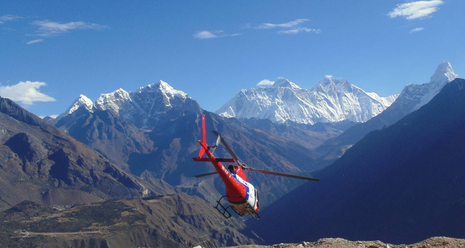 Everest Base Camp Luxury Heli Trek - Nepal Social Treks